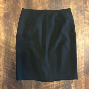 Banana Republic Black Pencil Skirt Size 0